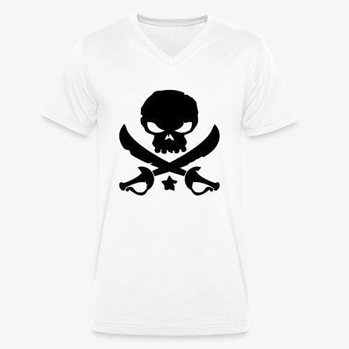 Pirate Destroy - T-shirt bio col V Stanley & Stella Homme