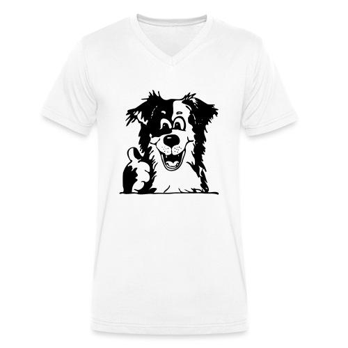 Comic - Alles Aussie! - Männer Bio-T-Shirt mit V-Ausschnitt von Stanley & Stella