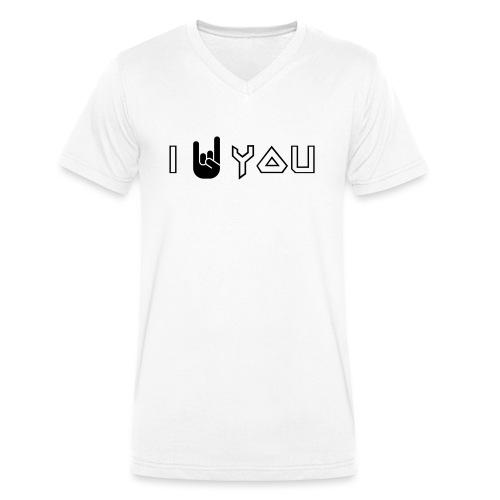 i rock vous - T-shirt bio col V Stanley & Stella Homme