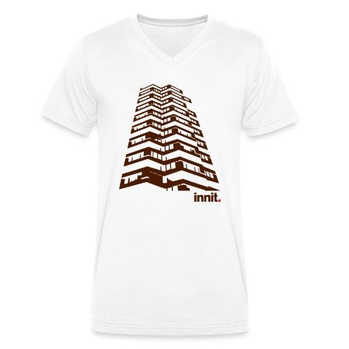 cronxlife - Men's Organic V-Neck T-Shirt by Stanley & Stella