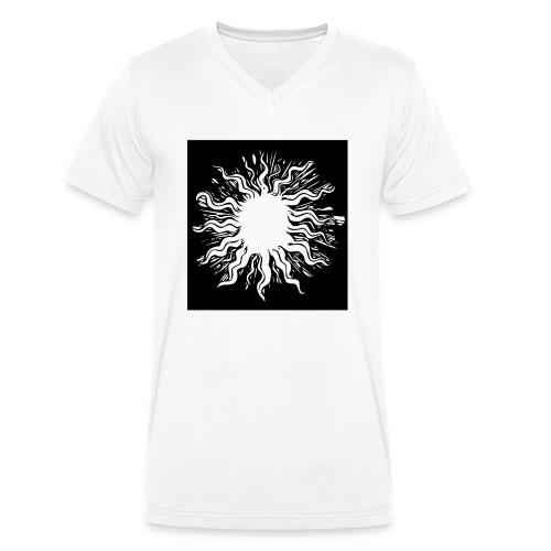 sun1 png - Men's Organic V-Neck T-Shirt by Stanley & Stella