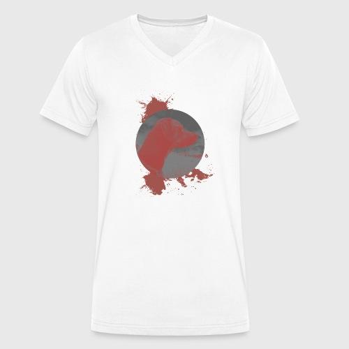 Zeus Motiv 1 - Männer Bio-T-Shirt mit V-Ausschnitt von Stanley & Stella