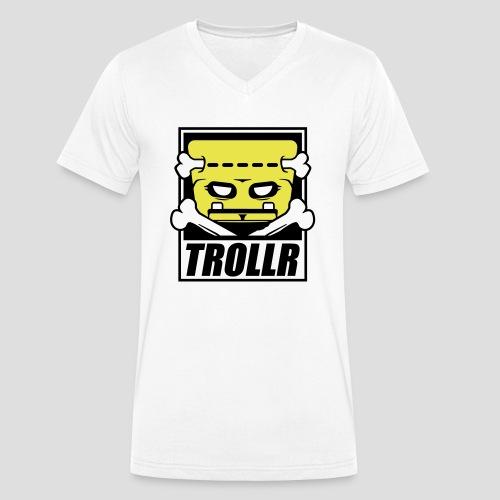 TROLLR origin - T-shirt bio col V Stanley & Stella Homme