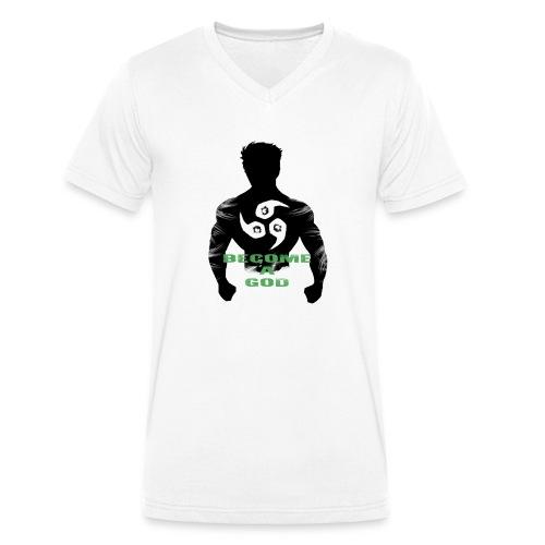 Raijin Become_A_God - Männer Bio-T-Shirt mit V-Ausschnitt von Stanley & Stella