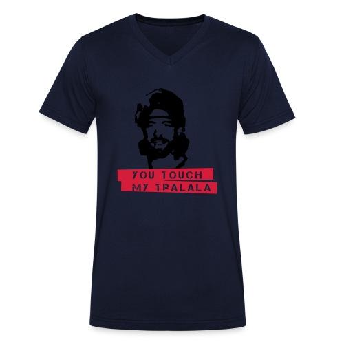 you touch my tralala - Männer Bio-T-Shirt mit V-Ausschnitt von Stanley & Stella