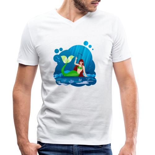 Sirène - T-shirt bio col V Stanley & Stella Homme