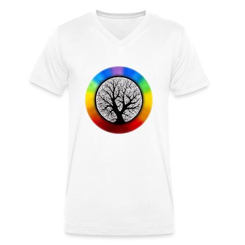 tree of life png - Mannen bio T-shirt met V-hals van Stanley & Stella