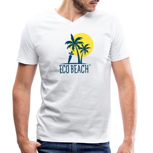 ECO BEACH - Männer Bio-T-Shirt mit V-Ausschnitt von Stanley & Stella
