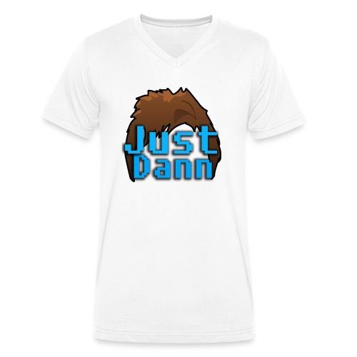 Name Logo - Men's Organic V-Neck T-Shirt by Stanley & Stella