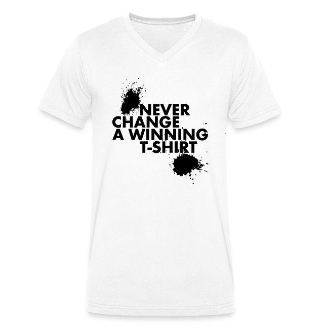 Never change a winning T-shirt