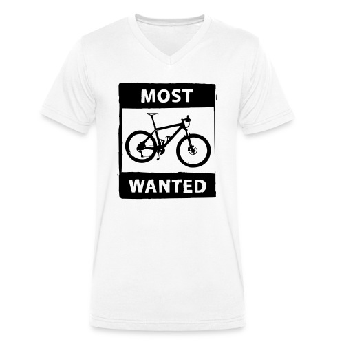 MTB - most wanted 2C - Männer Bio-T-Shirt mit V-Ausschnitt von Stanley & Stella