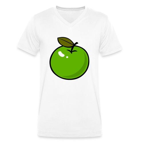 appel_d - Mannen bio T-shirt met V-hals van Stanley & Stella