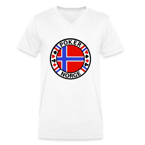 PoKeR NoRGe - Men's Organic V-Neck T-Shirt by Stanley & Stella