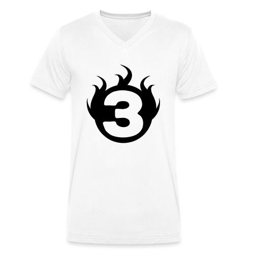 shoulder logoc - T-shirt bio col V Stanley & Stella Homme