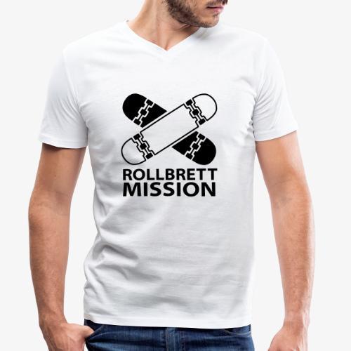 Logo Klassisch - Männer Bio-T-Shirt mit V-Ausschnitt von Stanley & Stella