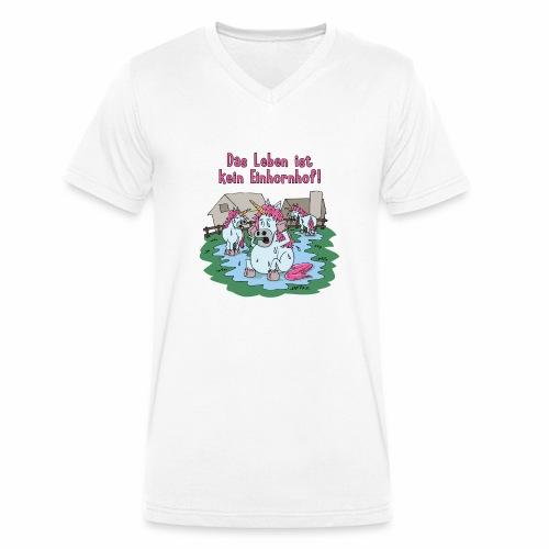 Kein Einhornhof! - Männer Bio-T-Shirt mit V-Ausschnitt von Stanley & Stella