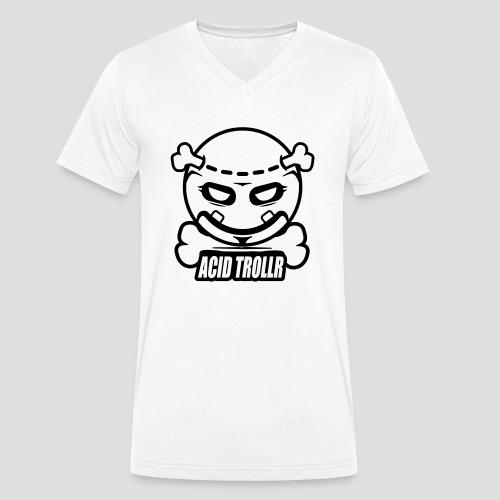 Acid TROLLR - T-shirt bio col V Stanley & Stella Homme