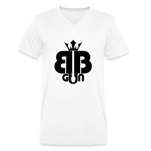 BB GUN noir - T-shirt bio col V Stanley & Stella Homme