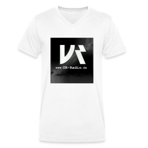 logo spreadshirt - Männer Bio-T-Shirt mit V-Ausschnitt von Stanley & Stella