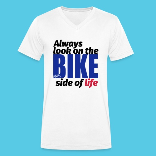 Bike - Männer Bio-T-Shirt mit V-Ausschnitt von Stanley & Stella