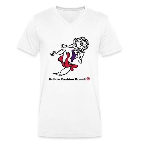 no name - Men's Organic V-Neck T-Shirt by Stanley & Stella