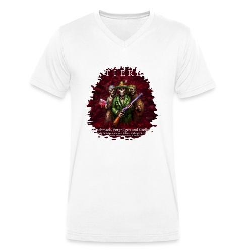 TIERE - Männer Bio-T-Shirt mit V-Ausschnitt von Stanley & Stella