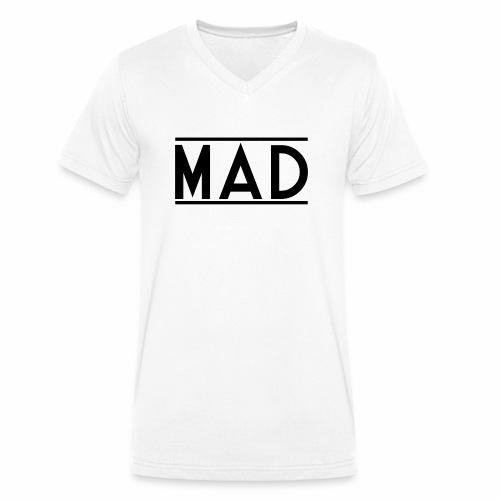 MAD - T-shirt ecologica da uomo con scollo a V di Stanley & Stella