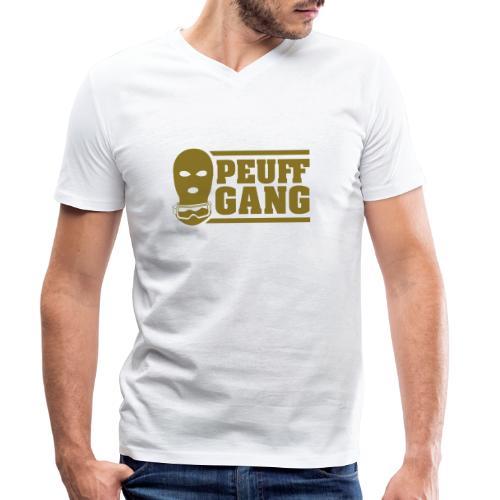 Peuff Gang Gold - T-shirt bio col V Stanley & Stella Homme