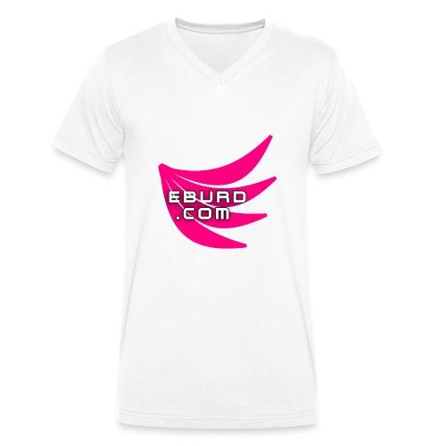 EBURD LOGO GROSS - Männer Bio-T-Shirt mit V-Ausschnitt von Stanley & Stella