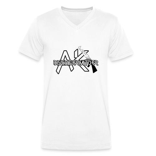 DISKUTIER MIT DER AK ! - Männer Bio-T-Shirt mit V-Ausschnitt von Stanley & Stella