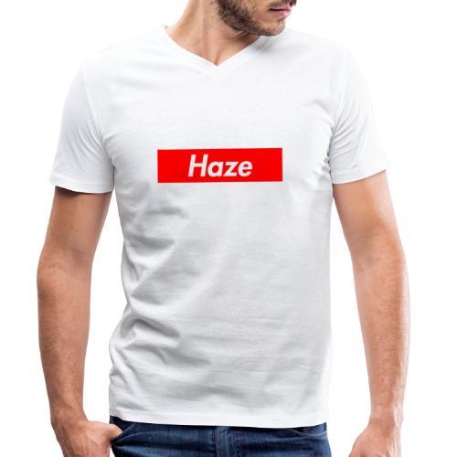 Haze - Männer Bio-T-Shirt mit V-Ausschnitt von Stanley & Stella
