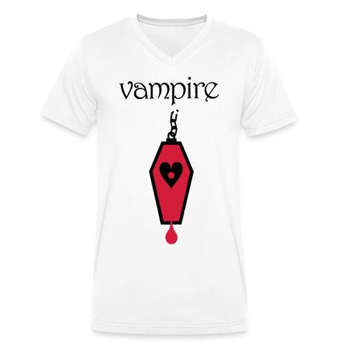 Vampire - Men's Organic V-Neck T-Shirt by Stanley & Stella