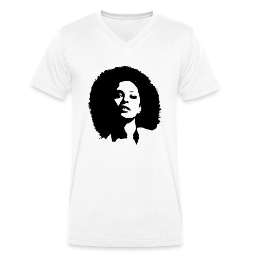 avenuelady - Mannen bio T-shirt met V-hals van Stanley & Stella