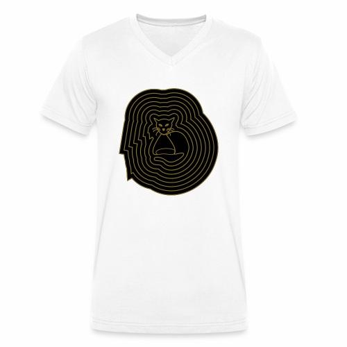 katzen spirale 6 - Männer Bio-T-Shirt mit V-Ausschnitt von Stanley & Stella
