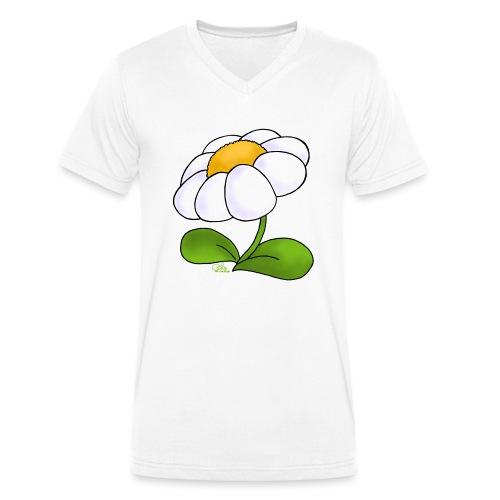 Gänseblümschn - Männer Bio-T-Shirt mit V-Ausschnitt von Stanley & Stella