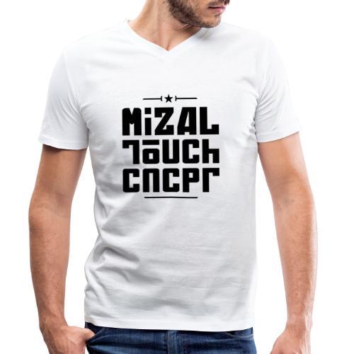 Logo MiZAL Touch Concept - T-shirt bio col V Stanley & Stella Homme