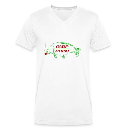 Carp Point new1 mid - Männer Bio-T-Shirt mit V-Ausschnitt von Stanley & Stella