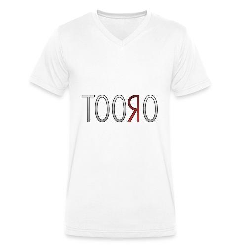 Tooro png - Männer Bio-T-Shirt mit V-Ausschnitt von Stanley & Stella