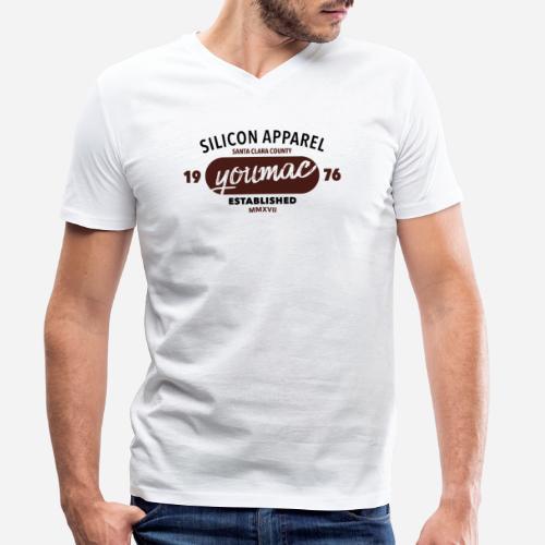 youmac est. MMXVII - Männer Bio-T-Shirt mit V-Ausschnitt von Stanley & Stella