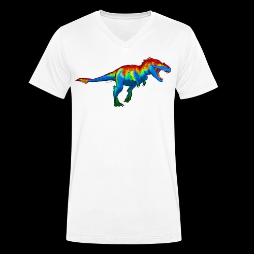 T-Rex - Men's Organic V-Neck T-Shirt by Stanley & Stella