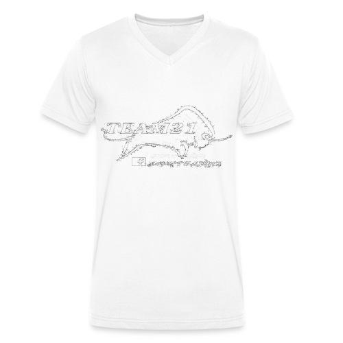 png - Männer Bio-T-Shirt mit V-Ausschnitt von Stanley & Stella