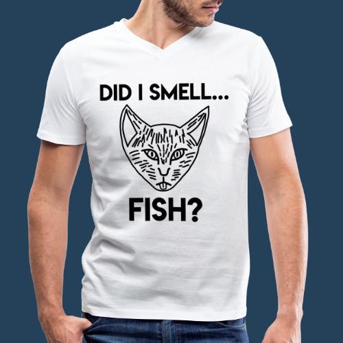 Did I smell fish? / Rieche ich hier Fisch? - Männer Bio-T-Shirt mit V-Ausschnitt von Stanley & Stella