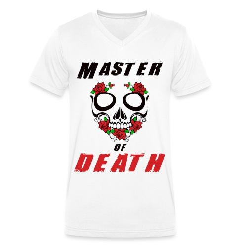 Master of death - black - Ekologiczna koszulka męska z dekoltem w serek Stanley & Stella