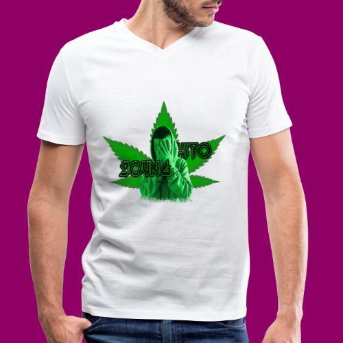 YOUNGHITO - T-shirt ecologica da uomo con scollo a V di Stanley & Stella