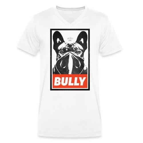 Bully Streetart - Männer Bio-T-Shirt mit V-Ausschnitt von Stanley & Stella
