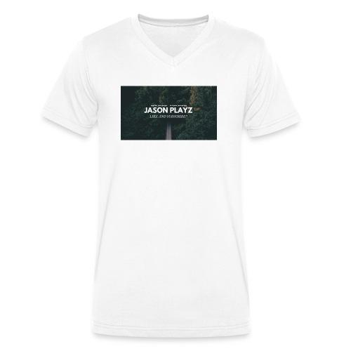 Jason Playz - Men's Organic V-Neck T-Shirt by Stanley & Stella
