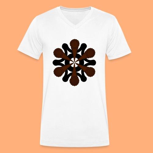vortex - T-shirt bio col V Stanley & Stella Homme