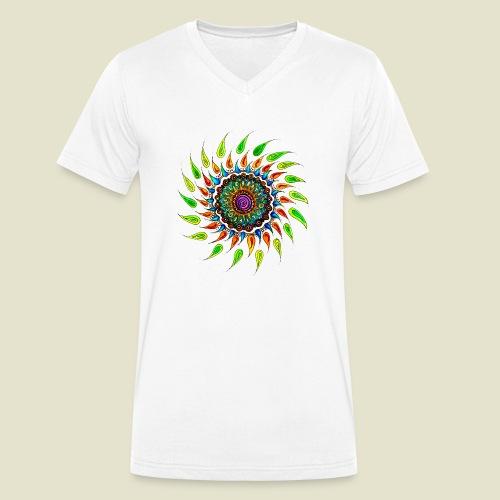 Celebrate Life - Männer Bio-T-Shirt mit V-Ausschnitt von Stanley & Stella