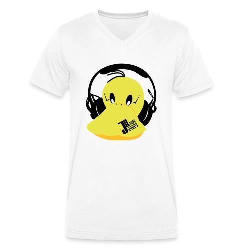 Jaques Raupé - Männer Bio-T-Shirt mit V-Ausschnitt von Stanley & Stella