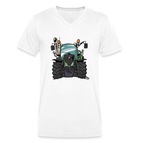 0195 F - Mannen bio T-shirt met V-hals van Stanley & Stella